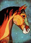 the horse by KerstinS