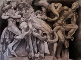 Laocoon and his sons by Dor0thy