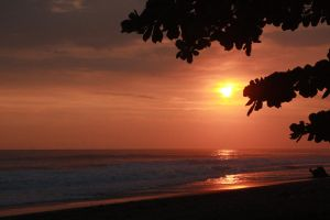 Beach sunset in Costa Rica by Anthem40