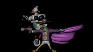 Darkwingduck Gizmoduck 001 by g2mdluffy