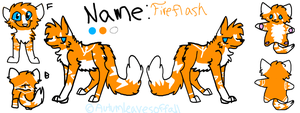 Fireflash ref by AutumLeavesofFall