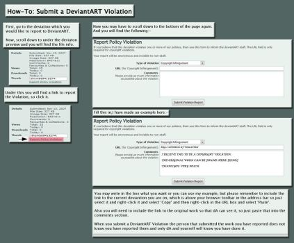 How To: Report A dA Violation by TheATaPC