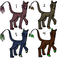 Leaftail Adopts (CLOSED) by remnants-of-life