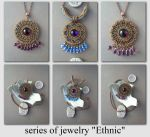 series of jewelry Ethnic by Comics-kinder