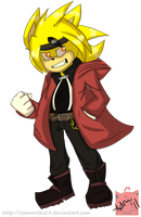 CE:Ace Andrews as Edward Elric by samorales13