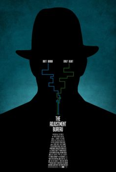 The Adjustment Bureau poster by drMIERZWIAK