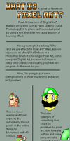 What is Pixel art? by Noveroth