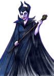 Mighty Maleficent by MadBlackie