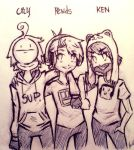 CRY, PEWDS AND KEN by NasaGxX96