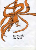 Nine-tailed Fox Spirit by koko231