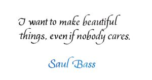 Saul Bass - Beautiful Things by MShades
