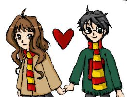 Holding Hands - Color by nicorobin