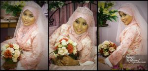 My sister wedding by melongray