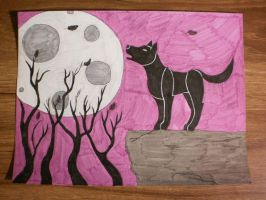 Howling Wolf #5 by BVBgirl27