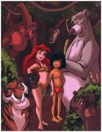 Adventures of Ariel and Mowgli Cover by jazz316