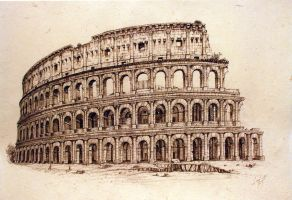 Colosseum by arcitenens