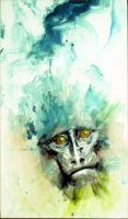 Mystic Monkey by Makkon