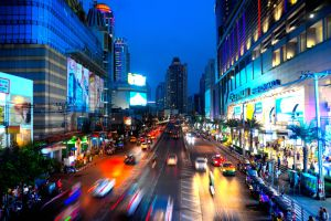 Bangkok city by Redbuddha15