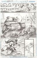 Fury vs. the tank by Cinar