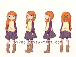 Character sheet for Hami by oyyro