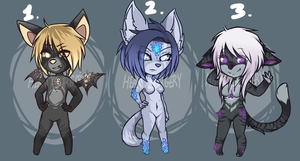Mineral Based Adoptables 2 by heartXsurgery