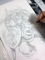 Wip, The Legend of Zelda (Link) by eDufRancisco