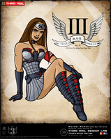 H.O.T Injustice Art Contest Wonder Woman Red Son by TRDLcomics