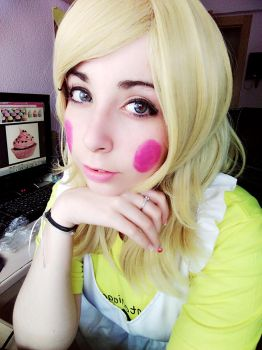 Fnaf-Toy chica cosplay by mimifreiheil