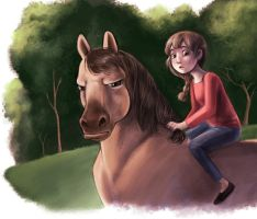 Riding by courtneygodbey