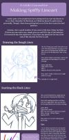 How To Make Spiffy Lineart by FLASOK