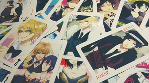 DURARARA Playing Cards by OMFGee