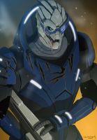 Garrus by doubleleaf