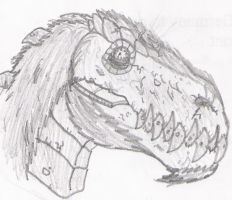 T-Rex Colossi by DinoHunter2