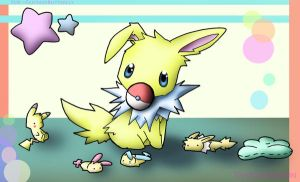 Cuddle Jolteon by FishFoundation