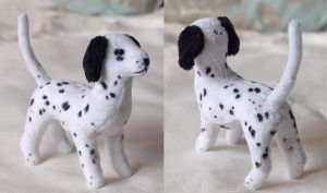 Mini Dalmatian Plush by PlushOwl