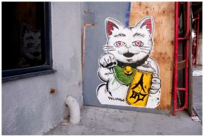 Street (art) Cat by makepictures