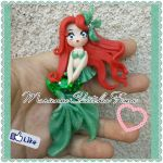 Ariel Sirenetta Handmade Disney Pendant by DarkettinaMarienne