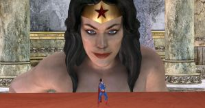 WonderWoman-Superman_10 by mynameisJunk