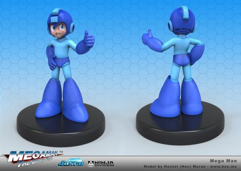 Megaman Thumbs Up by HecM