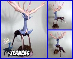 Xerneas V2 papercraft by javierini