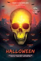 Halloween Party Flyer Template by styleWish