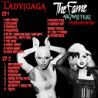 Fame Monster Deluxe Back Cover by KeybladeMeister