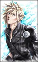 Advent Children Cloud-coloured by tifachan