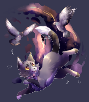 That's no proper posture for a landing cat by rookon