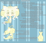ClosedSpecies: BubbleBuns - Ref. Sheet by MountainOfFeathers