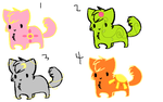 Adoptables-set 1 by Technicolor-teaparty