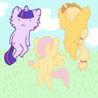 My Little...CATS THINGS? by FreezyFreeze