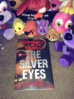 Lookee what I got a day early!  FNAF: Silver Eyes! by Negaduck9