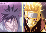 manga naruto 648-naruto and sasuke by sAmA15