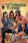 Viperous Vixens: Issue 01 concept cover by IsleSquaredComics